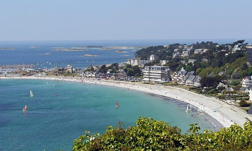 【フランス ブルターニュの海】見渡す限りエメラルドの絶景です!